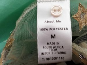 made in south africa label