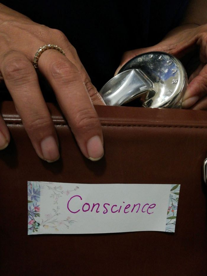 Conscience bag